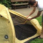 Палатка Verticale Kronus 2 в реальных условиях